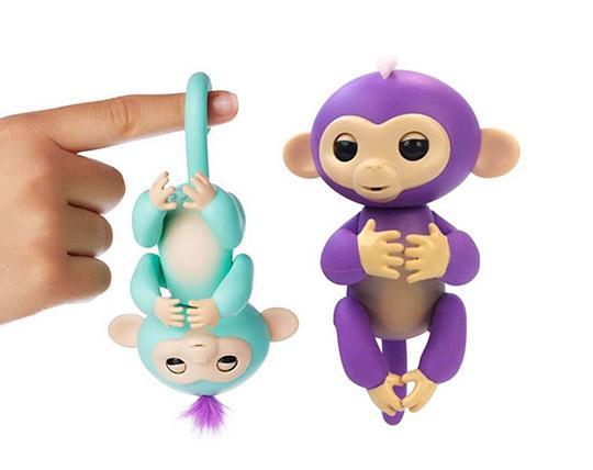 ربات میمون بند انگشتی مدل سخنگو و ساده