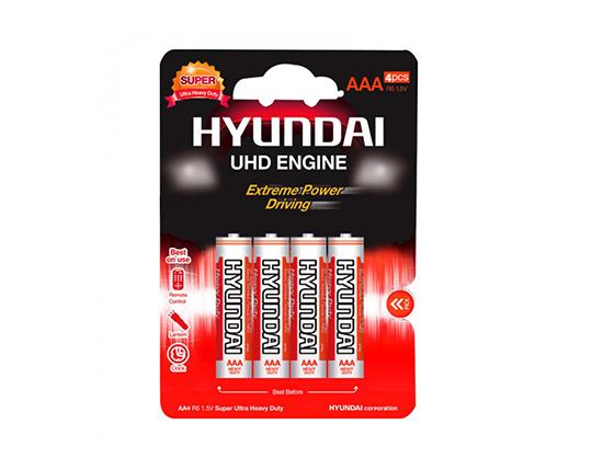 باتری کربن هیوندای نیم قلم چهارتایی کارتی