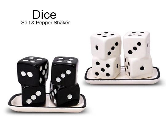 نمک پاش مدل تاس 2 عددی