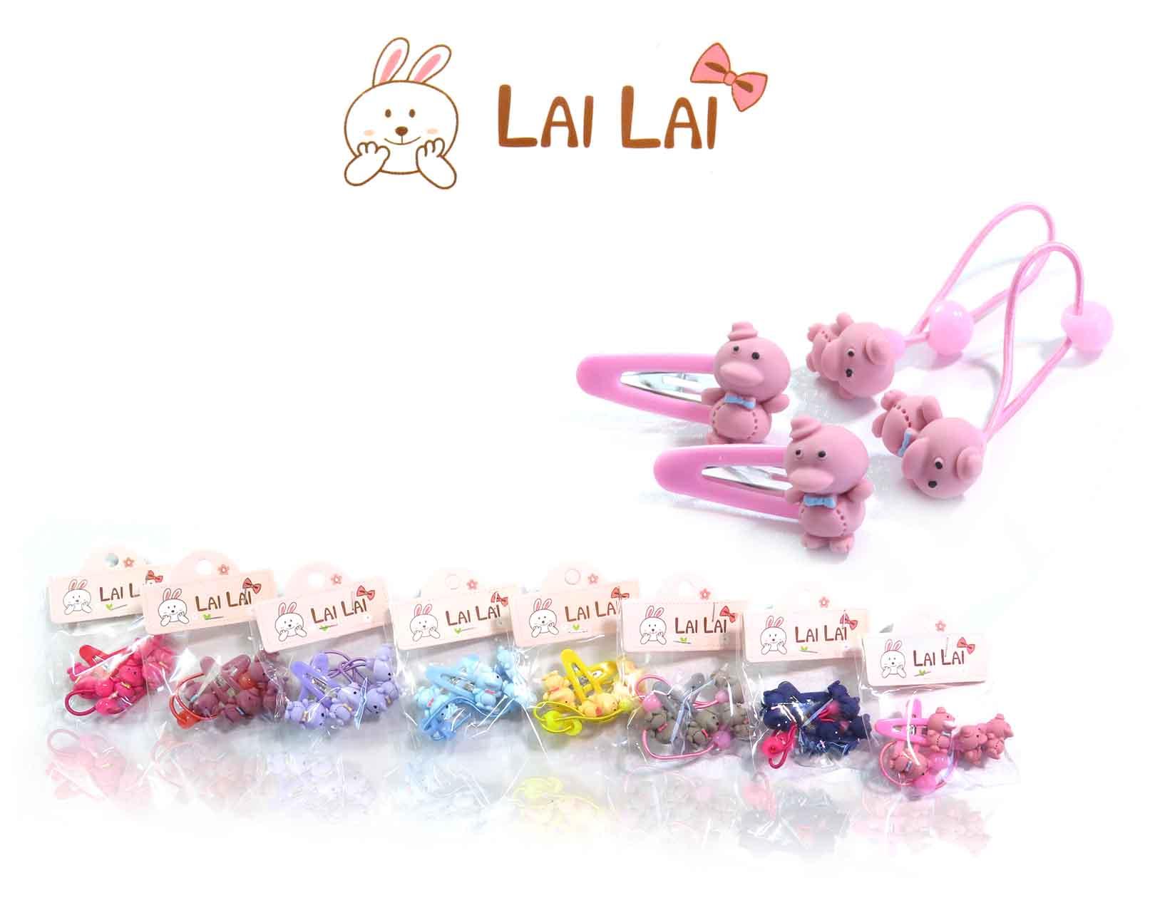 پکیج کش و گیره مو بچگانه LAI LAI