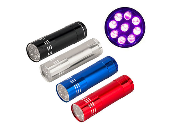 چراغ قوه LED بدنه فلزی