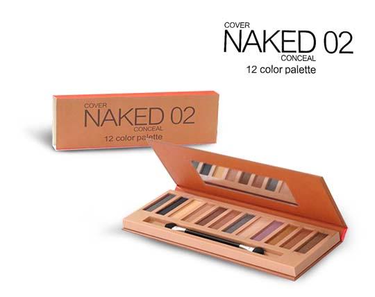 پالت سایه و کانسیلر 12 رنگ Naked 02