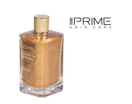 روغن شاین پوست و مو پريم  Prime herbal dry oil