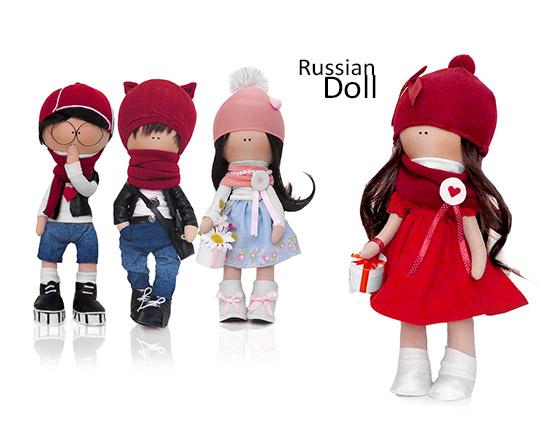 عروسک دست ساز روسی Russian doll