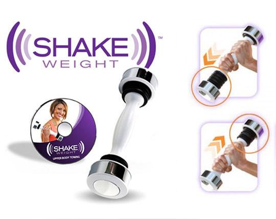 دمبل لرزشی حرفه ای بانوان Shake Weight