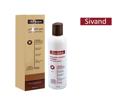 شامپو تقویتی کافئین سیوند  Sivand Caffeine Shampoo