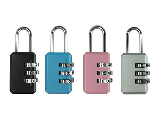 قفل آویز رمزدار سایز کوچک