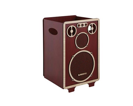speaker-shaped-trash-box