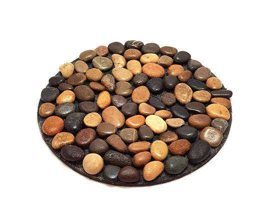 زیر قابلمه ای و زیربشقابی سنگی مدل stone