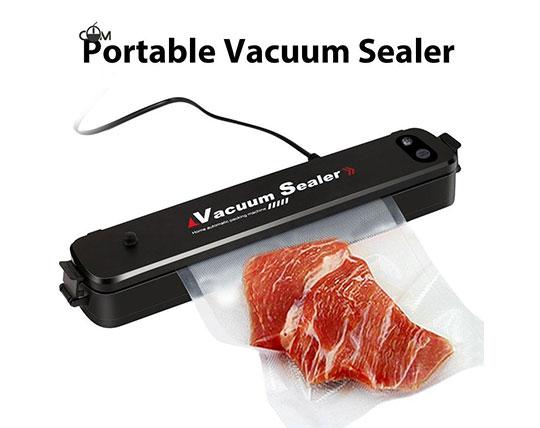 دستگاه پلمپ کیسه فریزر که با نام Vacuum Sealer