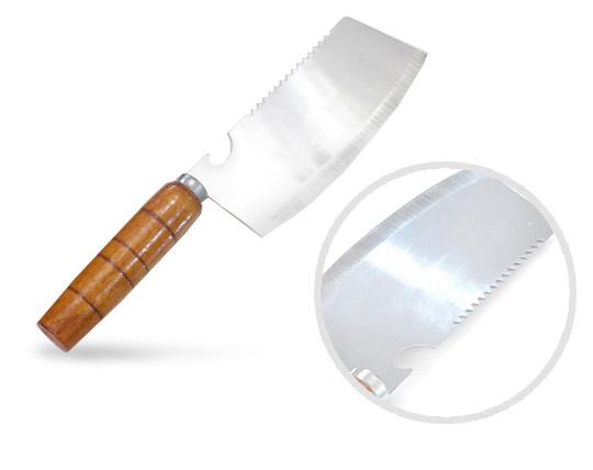 ساطور دسته چوبی سایز کوچک