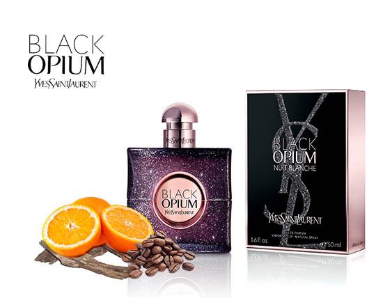 ادکلن زنانه بلک اوپیوم Yves Saint Laurent Black Opium