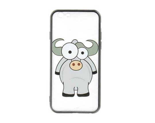 قاب موبایل طرح گاو وحشی Zoo Cow